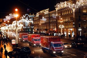 «Рождественский караван Coca-Cola» приедет в Курск 25 декабря